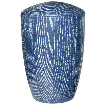 Wooden modern style urn