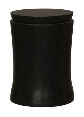 Wooden elegant urn